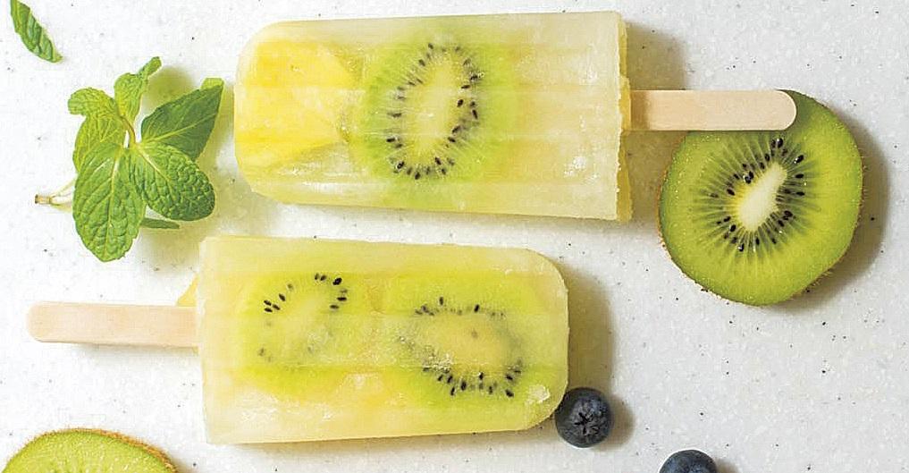 【フローズン フルーツバー】りんごジュース×キウイ× パイナップル